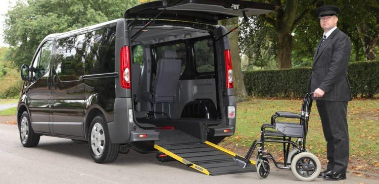 Mortons Funeral Directors wheelchair friendly hearse
