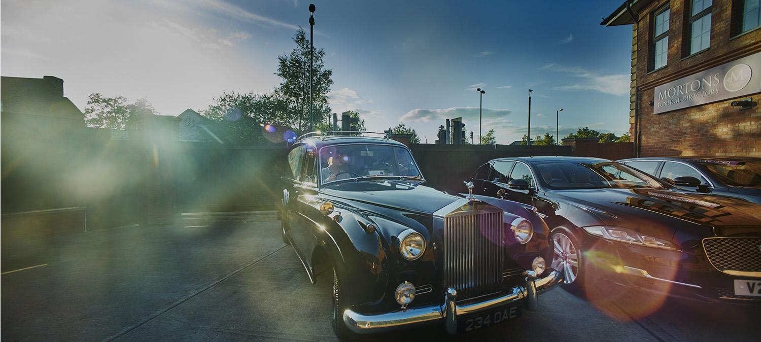Rolls-Royce outside head office