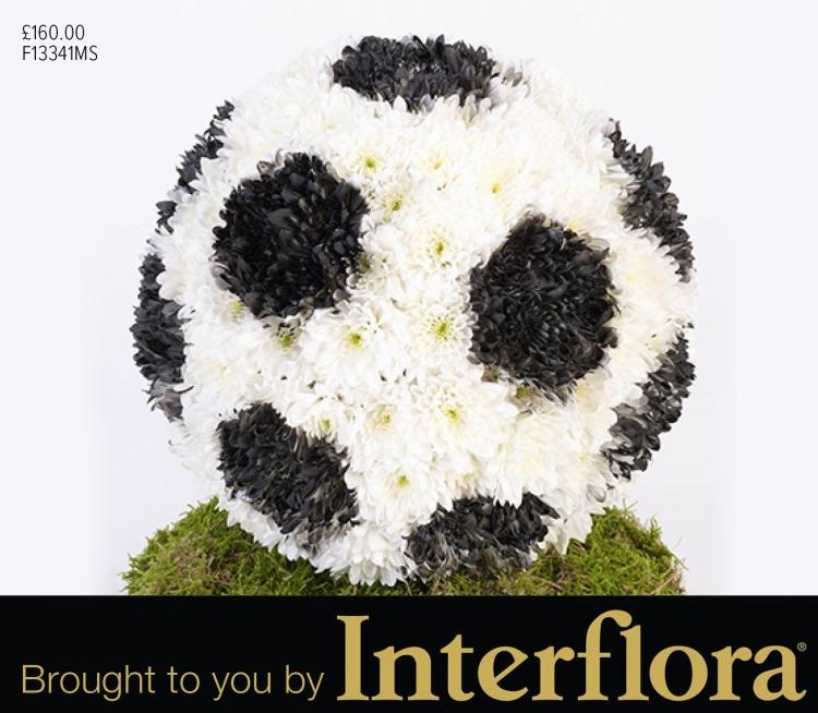 Mortons flower sculptures brought to you by Interflora