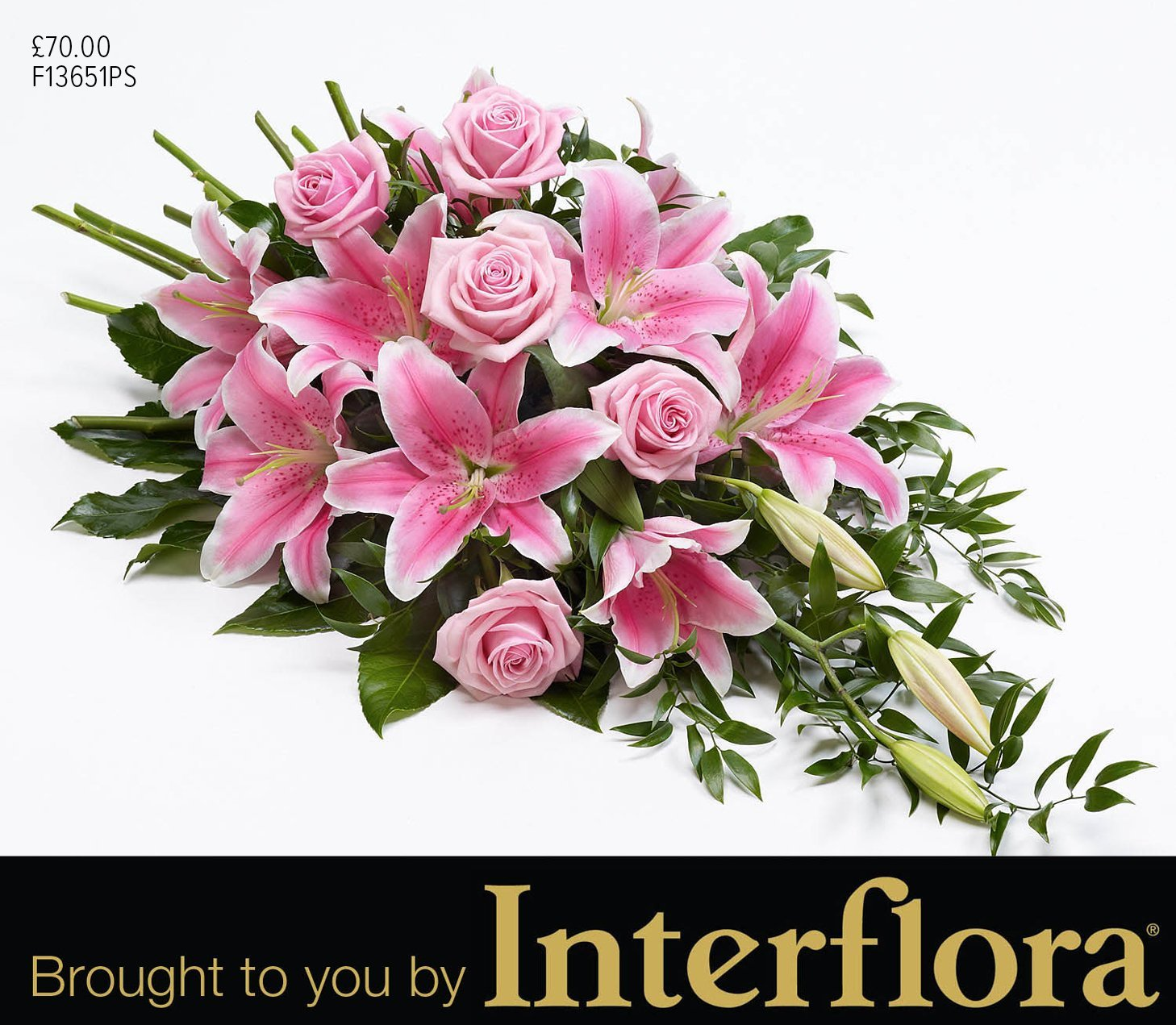 Mortons single ended arrangement flowers brought to you by Interflora