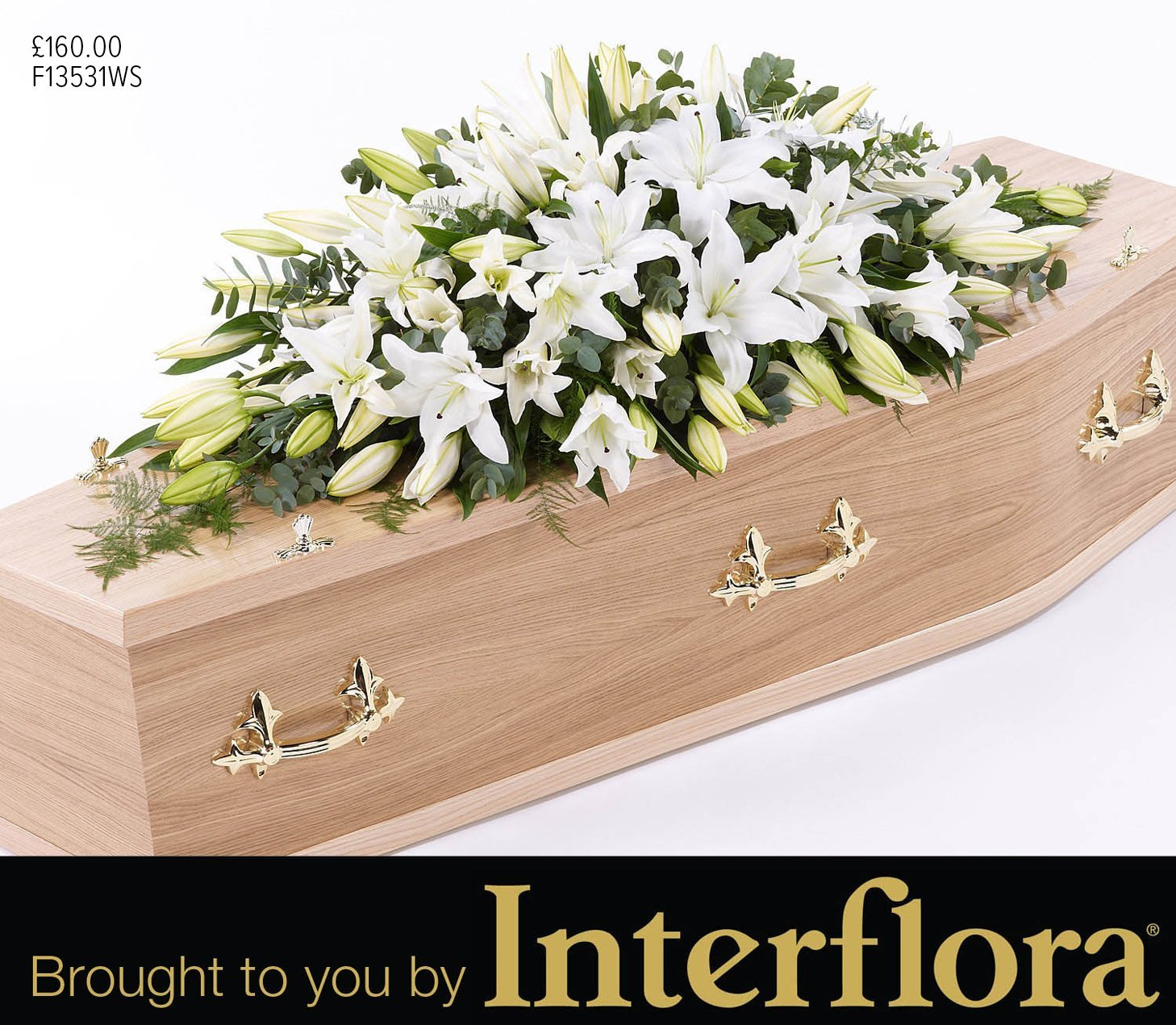 Mortons double ended arrangement flowers brought to you by Interflora