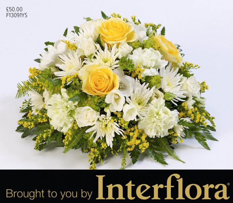 Mortons posies brought to you by Interflora