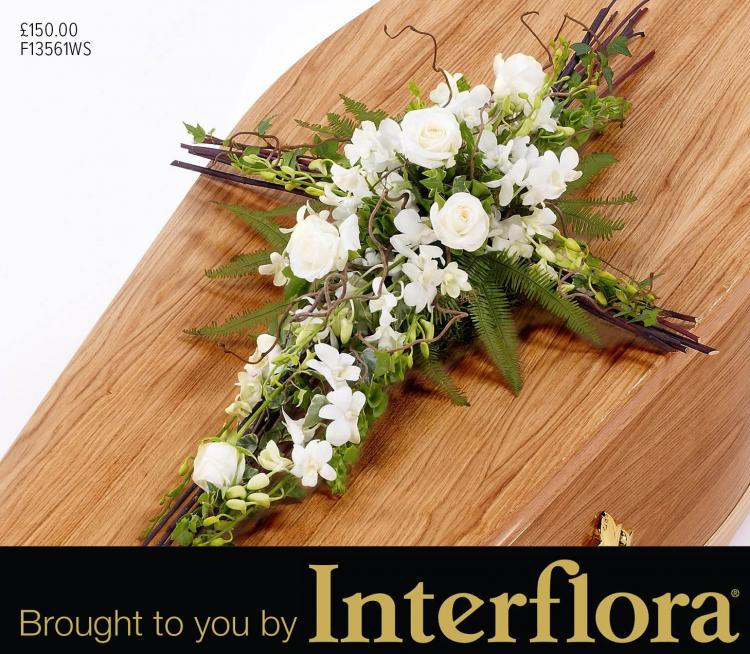 Mortons religious symbol flowers brought to you by Interflora